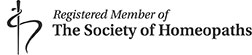 Society of Homeopaths Logo